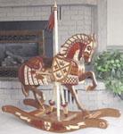 Decorative Armor Rocking Horse Project Pattern