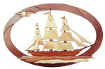 Clipper Ship Intarsia Project Pattern