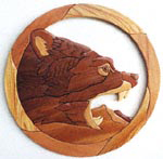 Grizzly Bear Intarsia Project Pattern