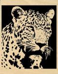 Gazing Leopard Project Pattern