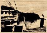 Great Egret & Shrimp Boat Project Pattern