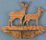 Deer Single Shelf Project Pattern