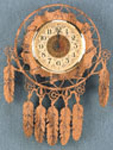 Indian Wall Clock Project Pattern