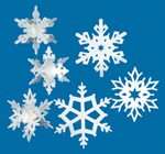 Snowflake Ornaments Project Patterns