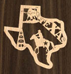 Texas Ornament Project Pattern
