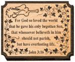 John 3:16 Project Pattern