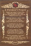 Fireman's Prayer Project Pattern