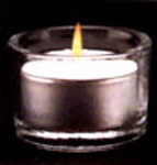 Tea Light Holder - Plain