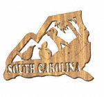 South Carolina Plaque Project Pattern