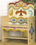 Southwest Bench Woodcraft Pattern