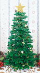 Christmas Tree Centerpiece Woodcraft Pattern