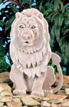 Guardian Lion Statue Woodcraft Pattern
