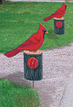 Cardinal Driveway Marker