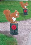 Squirrel Driveway Marker
