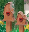Luv Shack Birdhouse Woodcraft Pattern
