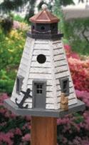 Rustic Lighthouse Birdhouse Woodcraft Pattern