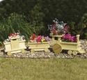 Train Planter Woodcraft Pattern