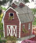 Rustic Barn Birdhouse Woodcraft Pattern