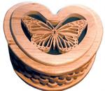 Butterfly Split Ring Box Project Pattern