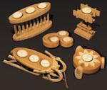 Tea Light Candleholders #1 Project Patterns