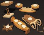 Tea Light Candleholders #2 Project Patterns