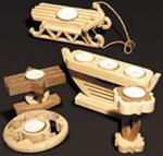 Tea Light Candleholders #3 Project Patterns