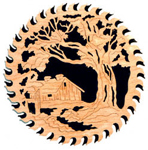 Country Cabin Circular Saw Blade Project Pattern