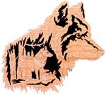 Gray Wolf - Nature's Majesty Project Pattern