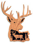Whitetail Deer - Nature's Majesty Project Pattern