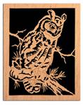 Watchful Owl Project Pattern