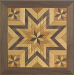 Wooden Quilt Square #2 Woodcraft Pattern