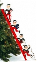 Elves & Ladder Woodcraft Pattern