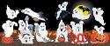 22 Ghoulish Ghosts Woodcraft Pattern