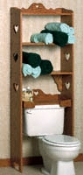 Bathroom Storage Shelf Pattern