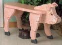 Pig Bench Wood Plans