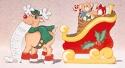 Sleigh & Reindeer Woodcrafting Pattern