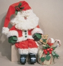 Jolly Santa Woodcraft Pattern