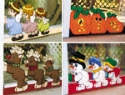Holiday Sliding Door Lock Pattern Set