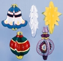 Large Christmas Ornaments Pattern