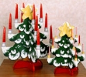 Christmas Tree Candle Holders Pattern