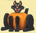 Cat Pumpkin Poke Woodcraft Pattern