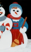 Snowlady Woodcrafting Pattern