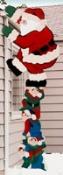 Climbing Santa Woodcraft Pattern