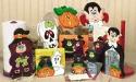 Crazy For Halloween Woodcraft Pattern