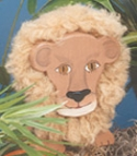 Layered Lion Woodcraft Pattern