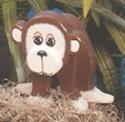 Layered Monkey Woodcraft Pattern