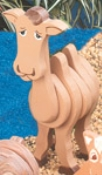 Layered Camel Woodcraft Pattern