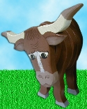 Layered Steer Woodcraft Pattern