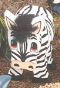 Layered Zebra Woodcraft Pattern