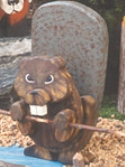 Layered Beaver Woodcraft Pattern